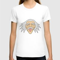 einstein T-shirts featuring Einstein by martinashdesign