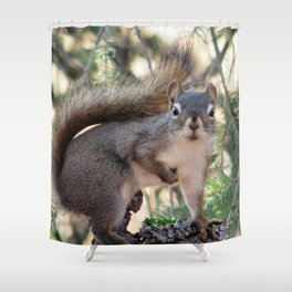 And Who Are You? Shower Curtain