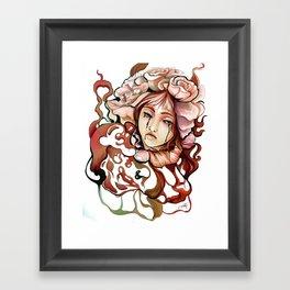 BlackTears Framed Art Print
