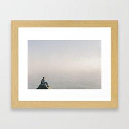 The Edge of the Earth Framed Art Print