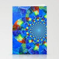 kaleidoscope Stationery Cards featuring Kaleidoscope  by haroulita
