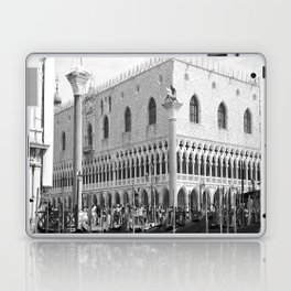 View of Venice St. Mark's Square Laptop & iPad Skin