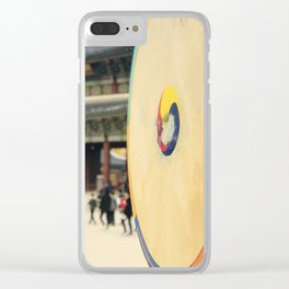 The royal drum Clear iPhone Case