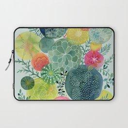Succulent Circles Laptop Sleeve