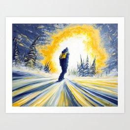Light Chaser Art Print