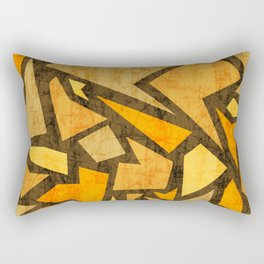 Aged terrazzo 5.2 Rectangular Pillow