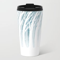 Winter Storm Metal Travel Mug