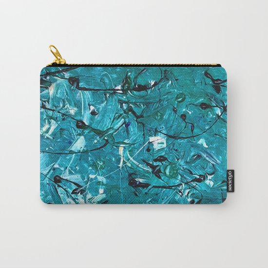 Green Chaos Carry-All Pouch