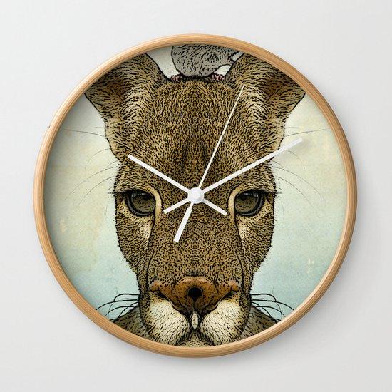 Roo and Tiny Wall Clock