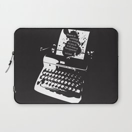 Ernest Hemingway Quote Laptop Sleeve