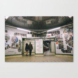 Tottenham Court Road Canvas Print