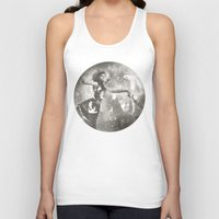 labyrinth Tank Tops featuring Labyrinth by BOBBY WILKINS