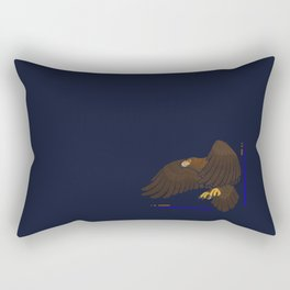 Aquila chrysaetos for wit Rectangular Pillow