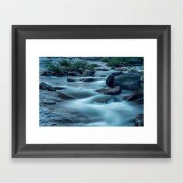 On Top of Upper Yosemite Falls Framed Art Print