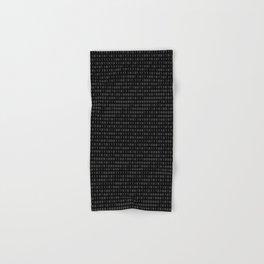binary code pattern Hand & Bath Towel