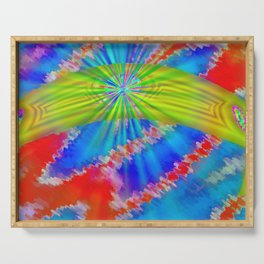 Abstract lighteffects -10- Serving Tray
