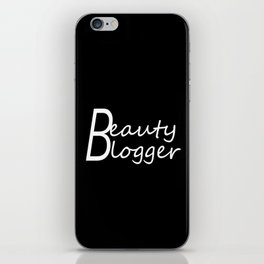 Fashion City: Beauty Blogger iPhone Skin