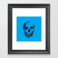 The humorous death  Framed Art Print