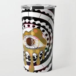 Glitterati CoSMic Eye Mandala by Imaginarium Arts Travel Mug