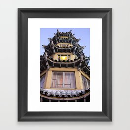 Chinatown in L.A. Framed Art Print