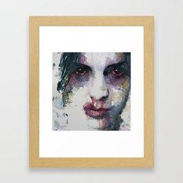 Real Men Don't Use Violence Framed Art Print