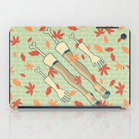 fall iPad Cases featuring fall by freshinkstain