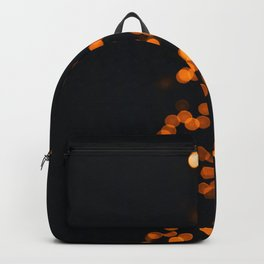 Golden Blurry Christmas Tree (Color) Backpack