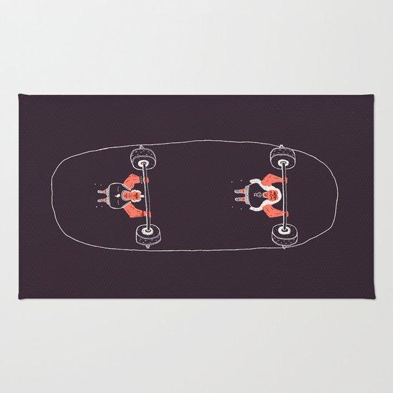 Heavyweight Skateboarding Rug