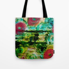 Spinning Wheels Tote Bag