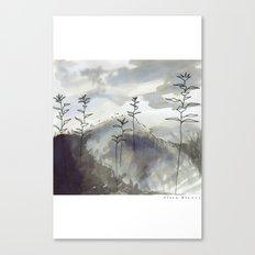Dreamimg of flowers Canvas Print