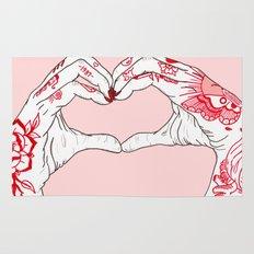 I Heart You Rug