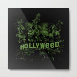 HollyWeed Metal Print