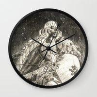 berserk Wall Clocks featuring Skull Knight by DawnG
