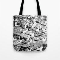 florence Tote Bags featuring Florence by frankWAYNE