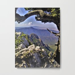Mountains in the Distance - Landscape Metal Print