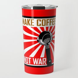 Japanese Propaganda Coffee Poster Travel Mug