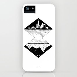 City by the Mountains iPhone Case