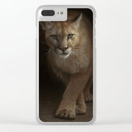 Cougar - Emergence Clear iPhone Case