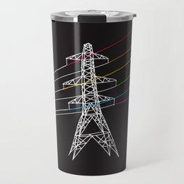 The Dark Side of Electricity Travel Mug