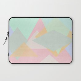 spring pastel abstract pattern design Laptop Sleeve