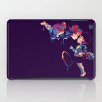 ponyo iPad Cases featuring Ponyo by lauramaahs