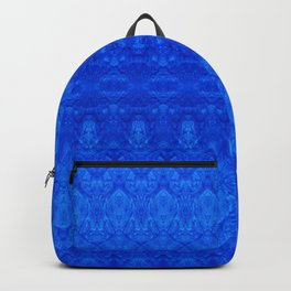 Dark Blue Grunge Backpack