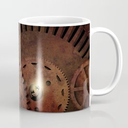 The Man in the Machine - A Steampunk Fantasy Coffee Mug