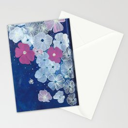 Celestial Blooms Stationery Cards
