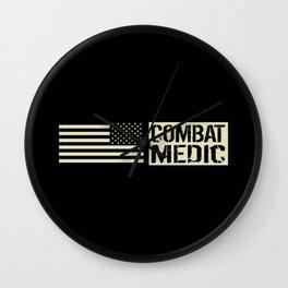 U.S. Military: Combat Medic Wall Clock