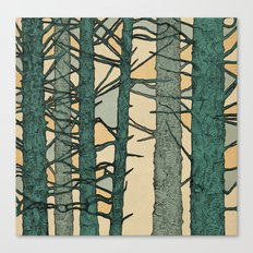 Green Trees Canvas Print