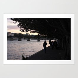 #ParisPostcards || In-seine-ly beautiful Art Print