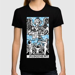 Tarot Floral Print - Judgement T-shirt