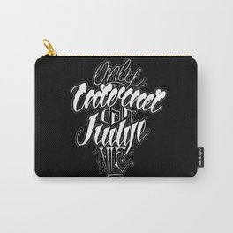 Only Internet Can Judge Me Carry-All Pouch