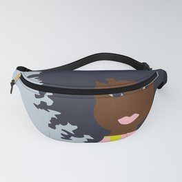 Thoughts of Pink Blooms (square) Fanny Pack